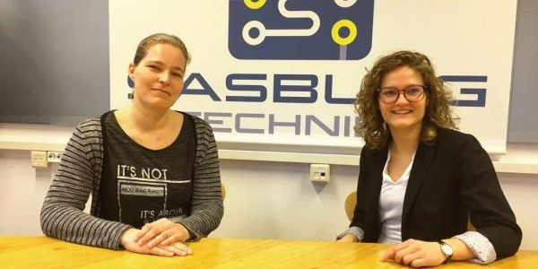 Versterking voor Sasburg Techniek. Welkom Julya en Lisette