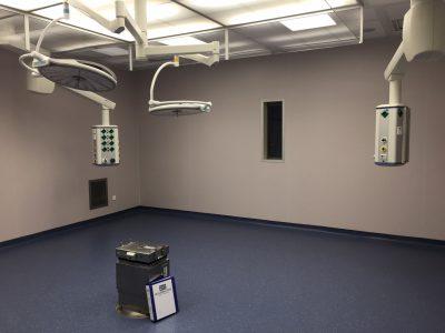 Verbouw operatiekamers