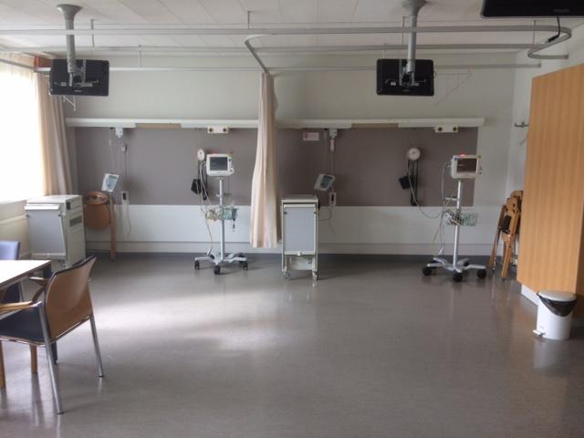 Verbouwen verpleegkamer