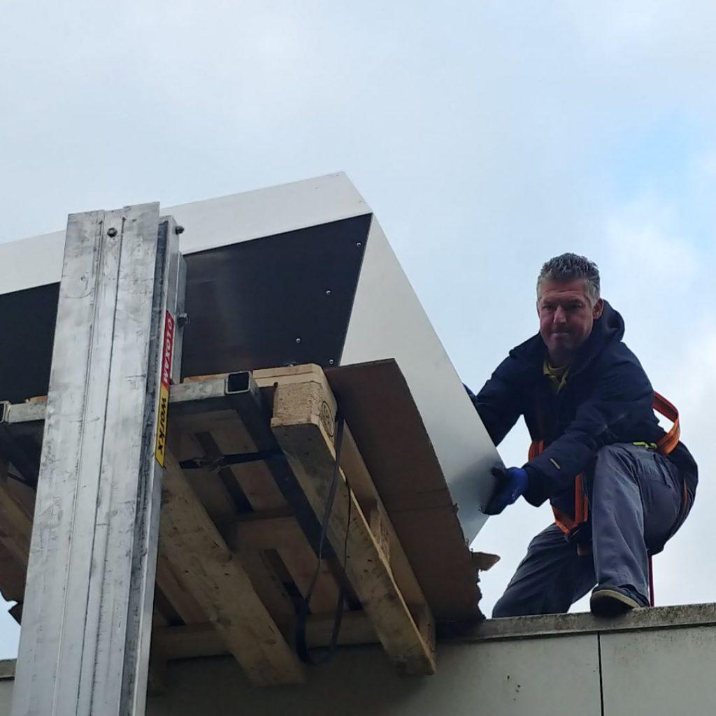 Onderhoud dakventilatoren