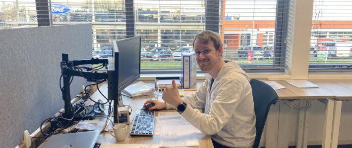 Vast contract voor Martijn Berkhout